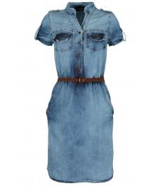 Дънкова къса рокля АЛИАНА А-2