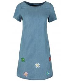 Дънкова къса рокля АЛУСИЯ А-1