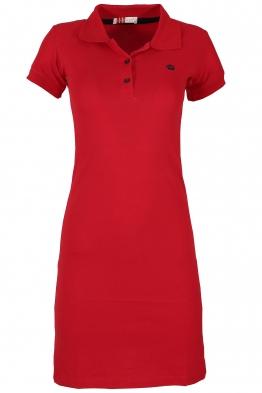 Къса рокля МОР червена