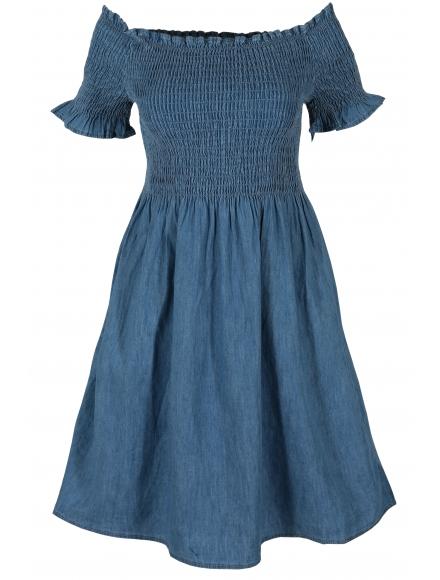 Дънкова рокля 649-1