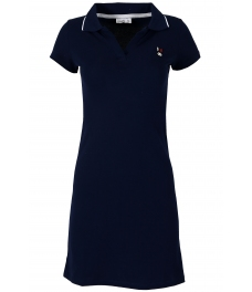 Къса рокля 8009 тъмно синя