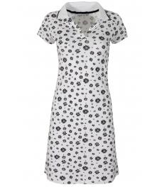 Къса рокля 8021 бяла