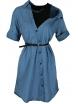 Дънкова рокля - туника М 6138