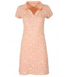 Къса рокля 8021 пудра