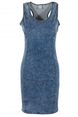 Къса дънкова рокля 419