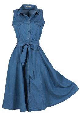 Дънкова рокля 8051