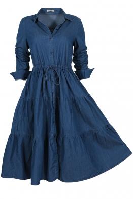 Дънкова рокля  8158-245