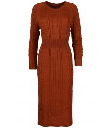 Плетена рокля Опра 308 брик