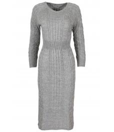 Плетена рокля Опра 308 сива