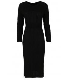 Плетена рокля Опра 308 черен