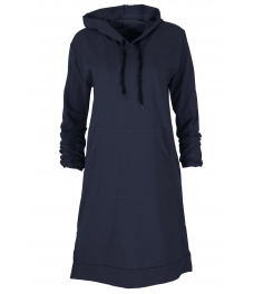 Дамска туника - рокля МОУД тъмно синя