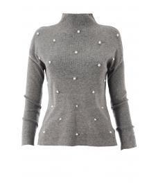 Дамска блуза B752AB сива