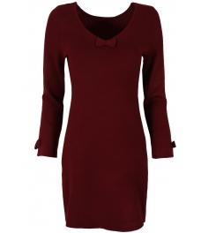 Дамска рокля В 732 бордо