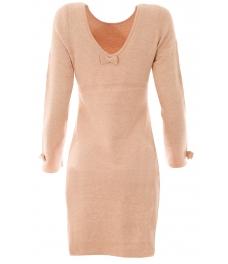 Дамска рокля В 732 пудра