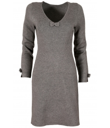 Дамска рокля В 732 сива