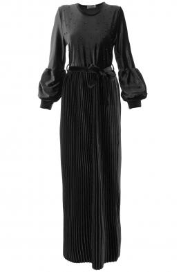 Дълга рокля Клаудия черна