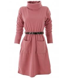 Къса рокля Трейси розова