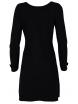 Дамска рокля В 732 черна