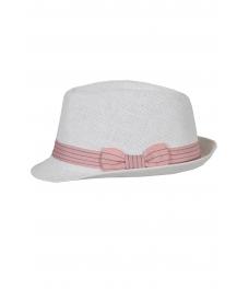 Дамска сламена шапка МЕЙЛ бяла