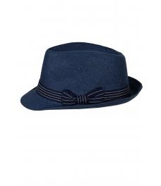 Дамска сламена шапка МЕЙЛ синя