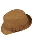 Дамска сламена шапка МЕЙЛ карамел