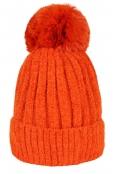 Зимна шапка 001 оранж