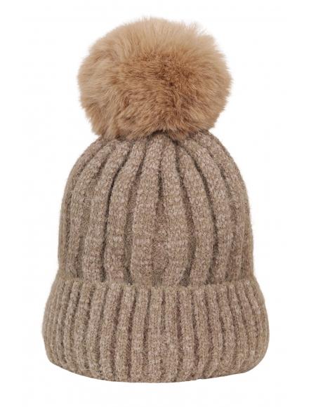 Зимна шапка 001капучино