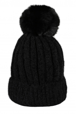Зимна шапка 001черна