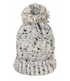 Зимна шапка 004 екрю меланж