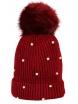 Зимна шапка 005 бордо