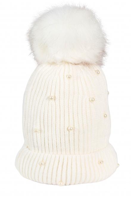 Зимна шапка 005 екрю