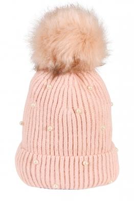 Зимна шапка 005 розова