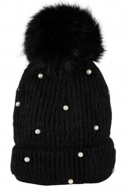 Зимна шапка 005 черна