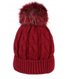 Зимна шапка 006 бордо