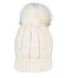 Зимна шапка 006 екрю