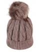 Зимна шапка 006 капучино