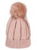 Зимна шапка 006 розова