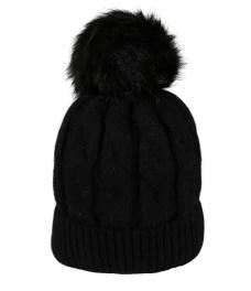 Зимна шапка 006 черна