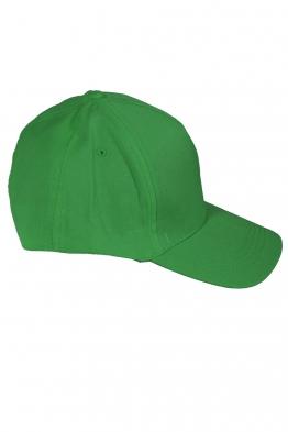 Дамска шапка с козирка SITY зелена
