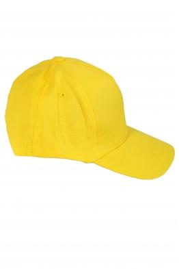 Дамска шапка с козирка SITY жълта