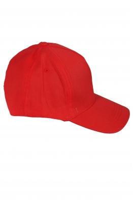 Дамска шапка с козирка SITY червена