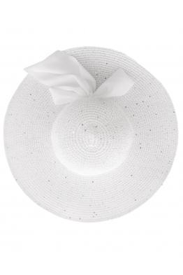 Дамска сламена шапка РОЯЛ бяла