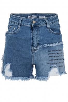 Дънкови къси панталони LD-5342