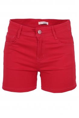 Дамски къси панталони MG 373-2 червени