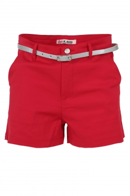 Дамски шорти G 3530-3 червени