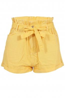 Дънкови шорти M 6235-13 жълти