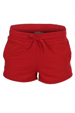 Дамски шорти 0902 червени