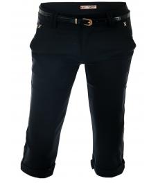 Дамски панталон капри H261 черен