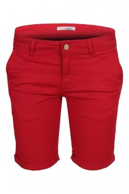 Дамски бермуди G3588 червени