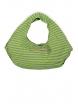 Чанта ДЖАК сива с зелен неон